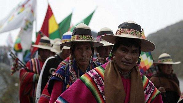 A questão indígena na Bolívia