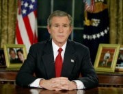 bush announces operation iraqi freedom 2003 0