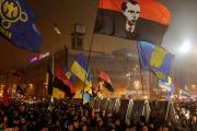 Смолоскипний марш Київ 1.01.2015 1