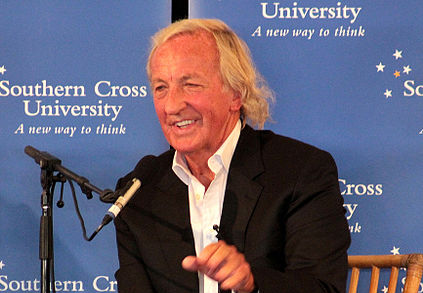 423px John Pilger in August 2011