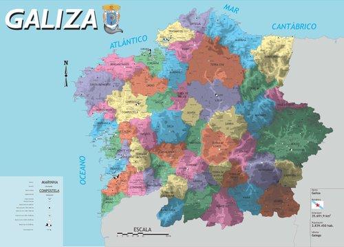 Galiza Colonia A Contradicom Galiza Espanha