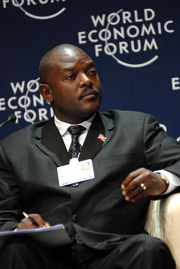321px Flickr World Economic Forum Pierre Nkurunziza World Economic Forum on Africa 2008