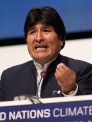 363px Evo Morales at COP15
