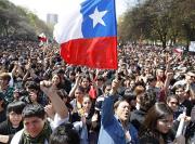 CHILE protesto