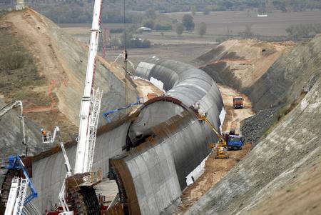 Falso tunel AVE por ministerio de fomento