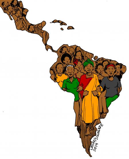 america latina negra