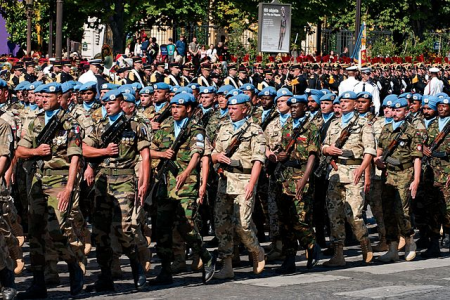 640px UN battalion Bastille Day 2008 n2