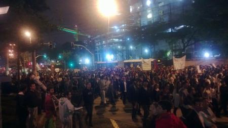 Foto de Deivson Prescovia para DL - Protestos em SP no dia 17 de junho